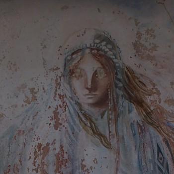 Menton, la Vierge peinte