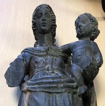 Petie vierge de la Chapelle Saint-Sulpice -Villerest