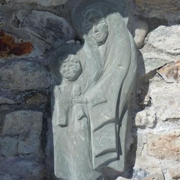 Oratoire de la Vierge à l'enfant à Castérino 06